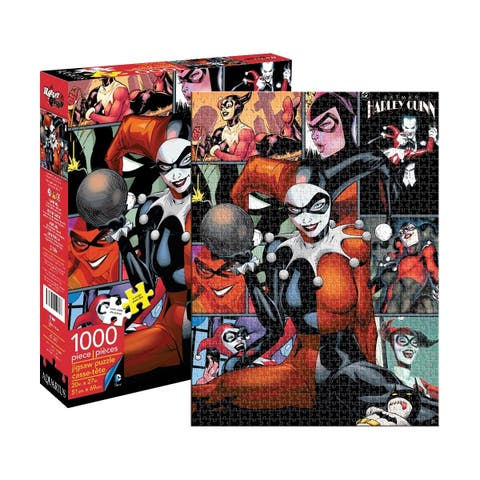 DC Comics - Harley Quinn Jigsaw Puzzle: 1000 Pcs