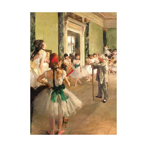 Edgar Degas - The Ballet Class: 1000 Pcs