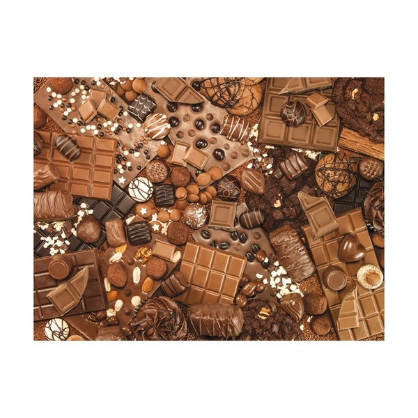 Chocolate Jigsaw Puzzle: 1000 Pcs
