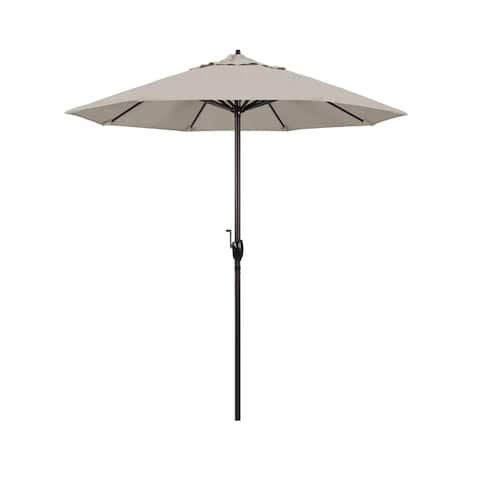 North Bend 7.5 Crank Lift Auto Tilt Patio Umbrella by Havenside Home