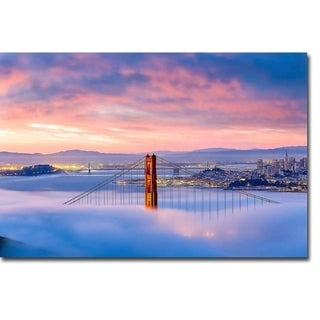 Anomaly by Dave Gordon Gallery Wrapped Canvas Giclee Art (24 in x 36 in, Ready to Hang)