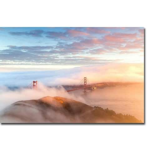Arrival by Dave Gordon Gallery Wrapped Canvas Giclee Art (24 in x 36 in, Ready to Hang)