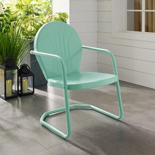 Griffith Metal Chair In Aqua
