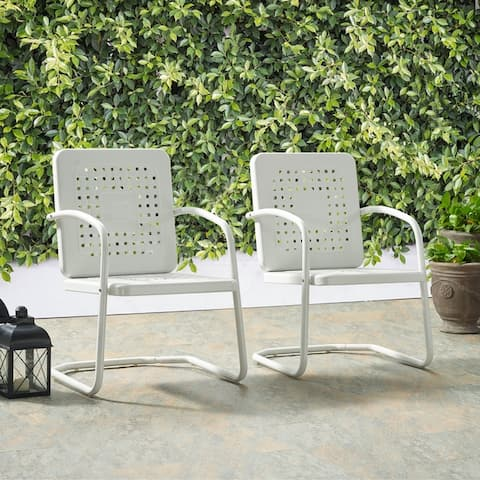 Bates Chair In White (Set Of Two)