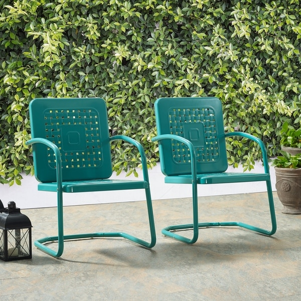 Shop Bates Chair In Turquoise (Set Of Two) - On Sale - Free Shipping
