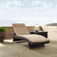 Biscayne Chaise Lounge With Mocha Cushion