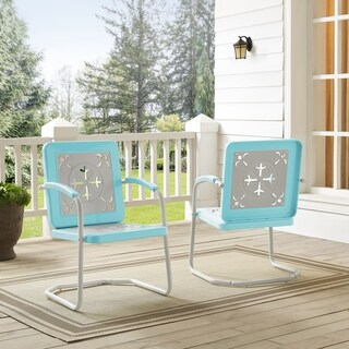 Azalea Chair In Turquoise (Pack Of Two)