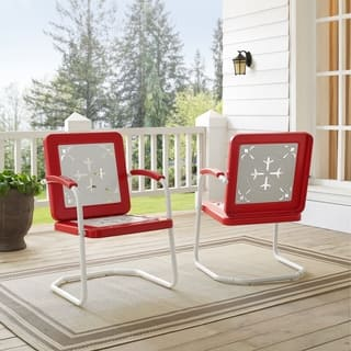 Azalea Chair In Red (Pack Of Two)