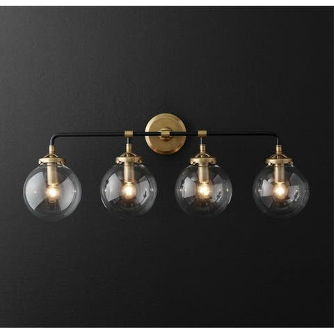 4-light Globe Vanity Sconce