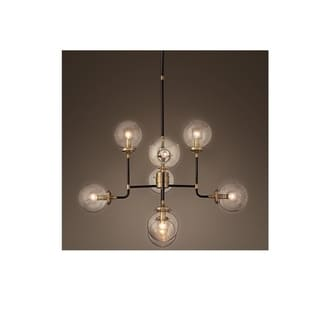 Link to Globe Clear Glass 8-Light Chandelier Similar Items in Chandeliers
