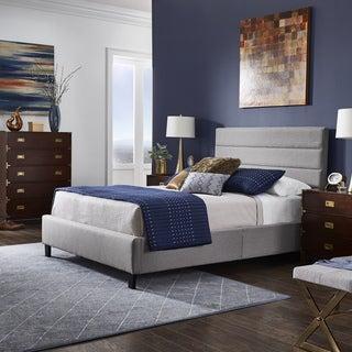 Renzo Espresso Finish Platform Bed by iNSPIRE Q Modern