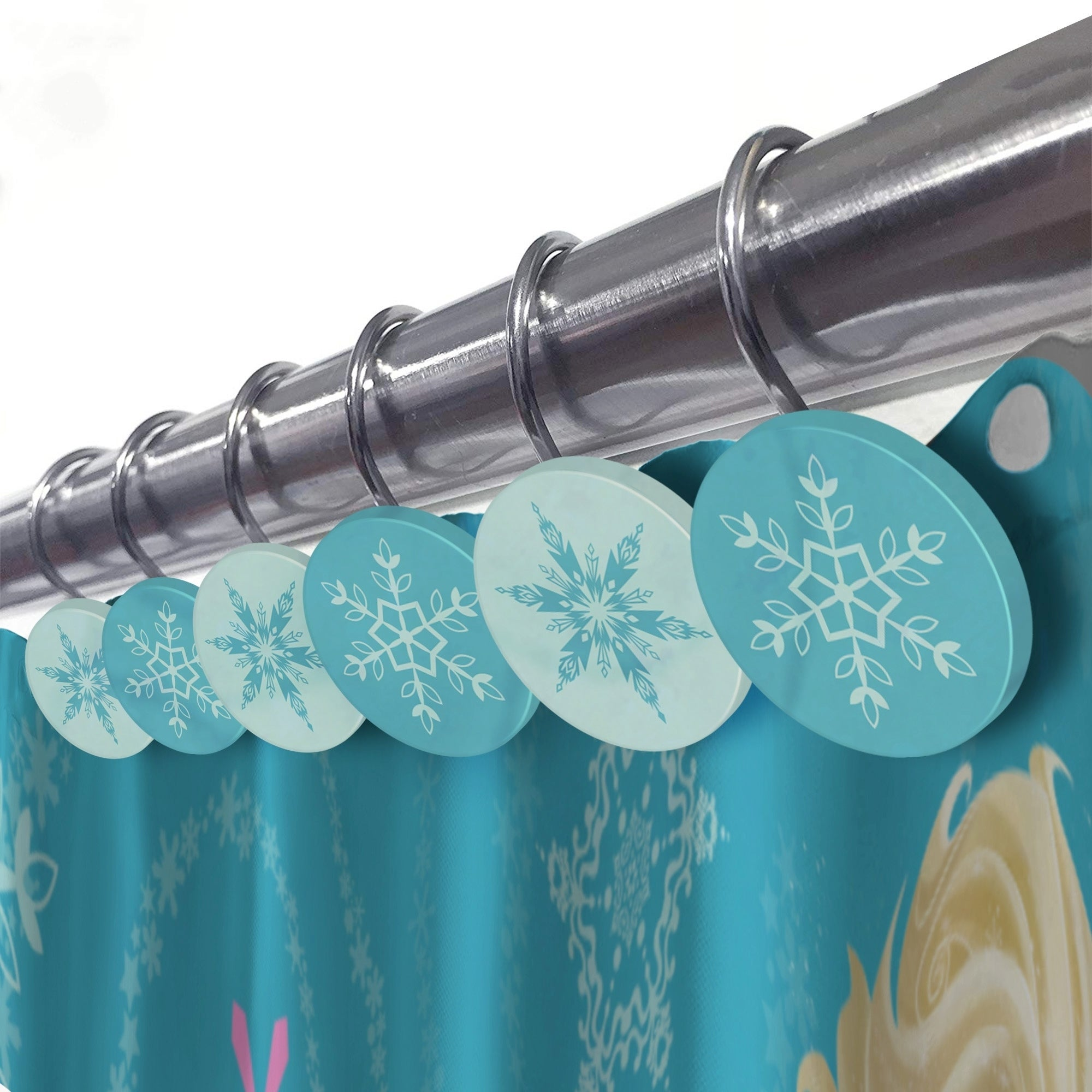 Mickey Mouse Road Race Shower Curtain And Hooks