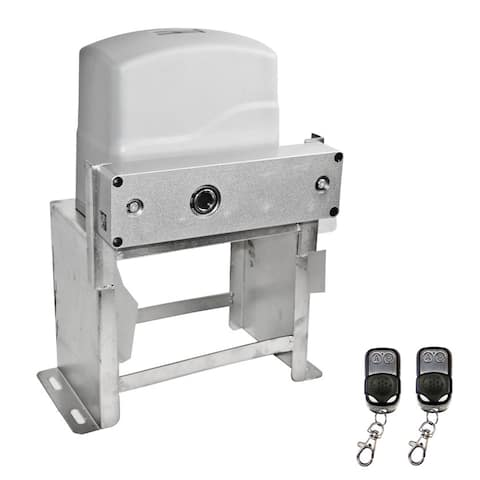 ALEKO Electric Sliding Gate Opener for Gates Up to 55ft Long and 2400lb