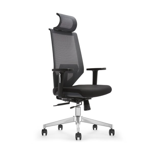 Multi Function Ergonomic Office Chair with Seat Sliding Lumbar Support