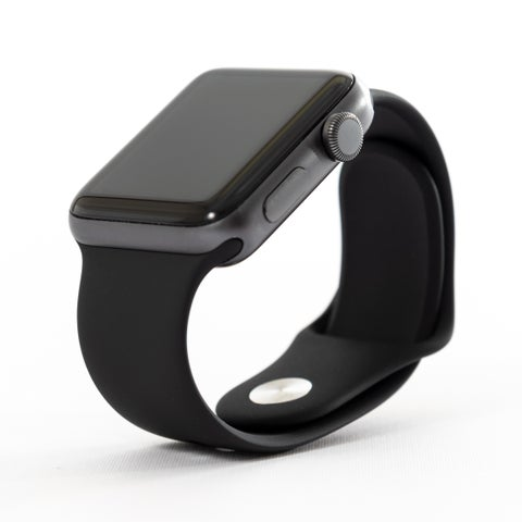 Apple Watch MR362LL/A Series 3 42mm Space Gray Aluminum Case/Gray Sport Band - Refurbished by Overstock