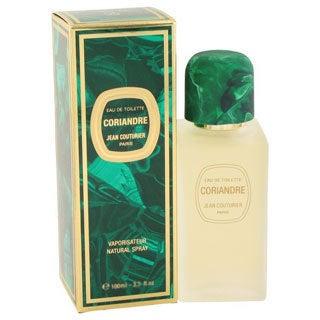 Jean Couturier Coriandre Women's 3.4-ounce Eau de Toilette Spray