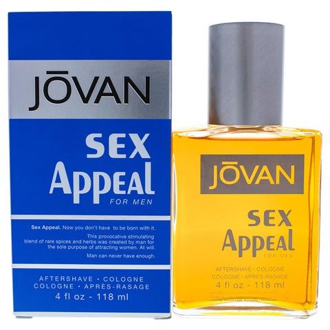 Jovan Sex Appeal Men's 4-ounce Cologne