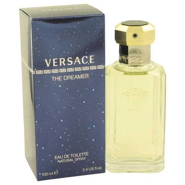 Versace Dreamer Men's 3.4-ounce Eau De Toilette Spray
