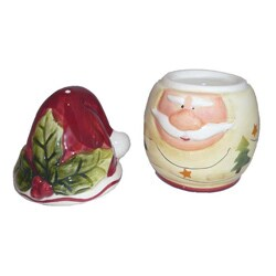 Santa Claus Combination Salt and Pepper Shaker - Thumbnail 2