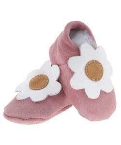 Papush My Little Pink Flower Baby Shoes