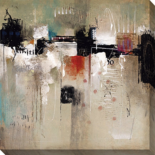 Gallery Direct Jacobs Raisonne III Gallery Wrapped Canvas Art