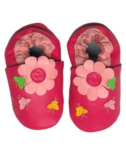 Papush Pink Flowers and Butterflies Infant Shoes (4 options available)