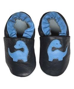 Papush Blue Dinosaurs Infant Shoes