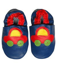 f7c3e38a25ee7 Shop School Bus Leather Baby Shoes - Free Shipping On Orders Over ...