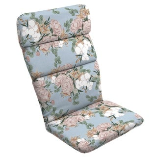 Arden + Artisans Giana Floral Adirondack Chair Cushion - 45.5 in L x 20 in W x 2.25 in H