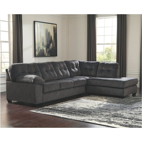 Shop Accrington Granite 2 Piece Sectional With Right