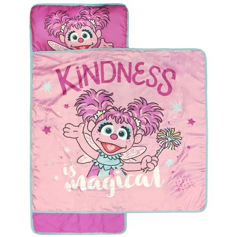Sesame Street Kindness Is Magic Nap Mat - Built-in Pillow