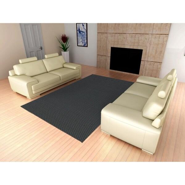 Medallion Cinder Living Room Area Rug
