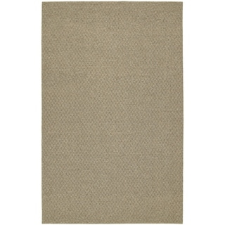 Town Square Tan Living Room Area Rug Runner