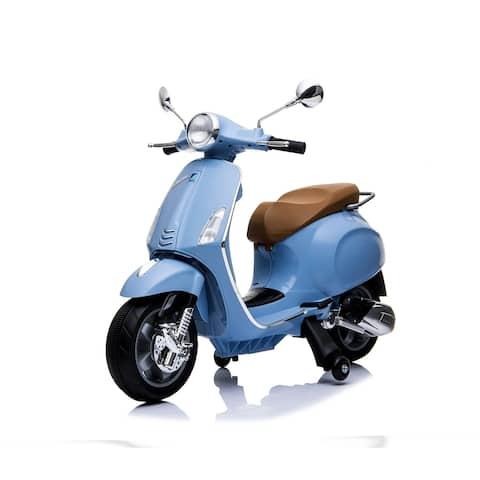 12V Vespa GTS Super Sport - Blue