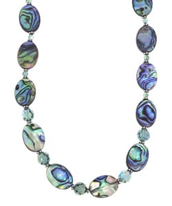 Charming Life Rainbow Paua Abalone Shell Necklace
