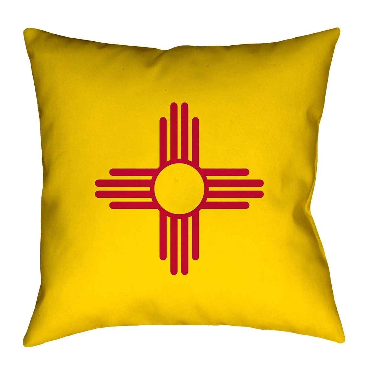 Shop For Katelyn Smith New Mexico Flag Pillow Poly Twill Get Free Shipping On Everything At Overstock Your Online Home Decor Outlet Store Get 5 In Rewards With Club O 26631208
