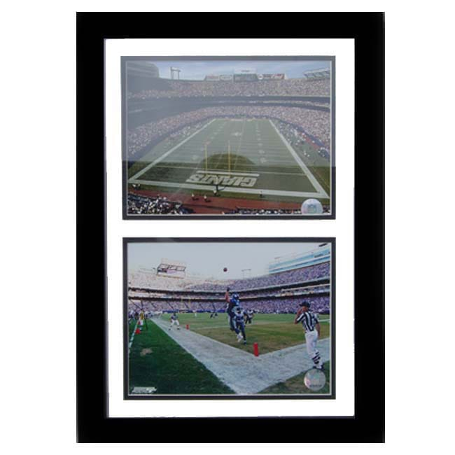 New York Giants/ Giants Stadium Double Photo Frame