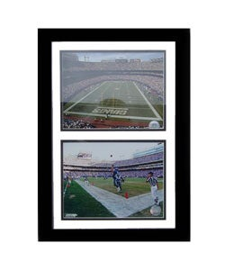 New York Giants/ Giants Stadium Double Photo Frame