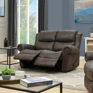 Copper Grove Wels 2-seat Rolled Arm Recliner Loveseat