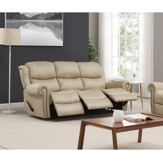 Copper Grove Wels 3-seat Rolled Arm Recliner Sofa