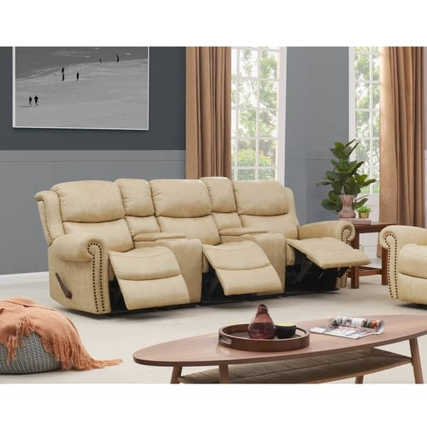 Brilliant Shop Copper Grove Wels 3 Seat Rolled Arm Recliner Sofa With Lamtechconsult Wood Chair Design Ideas Lamtechconsultcom