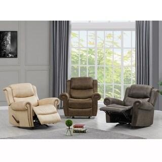 Copper Grove Dilsen Rolled Arm Rocker Recliner Chair
