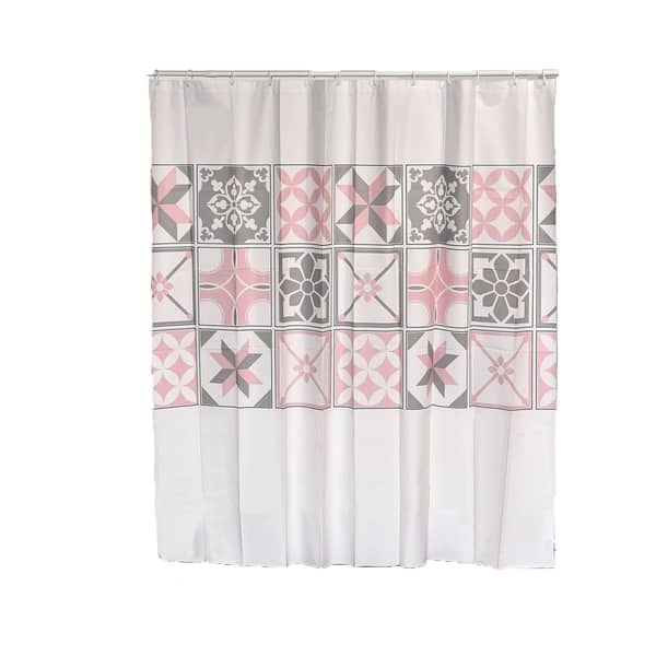 Bastide Collection Printed Peva Liner Shower Curtain
