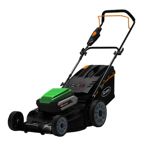 Scotts 19- Inch Cordless 40 Volt Lithium Ion Lawn Mower