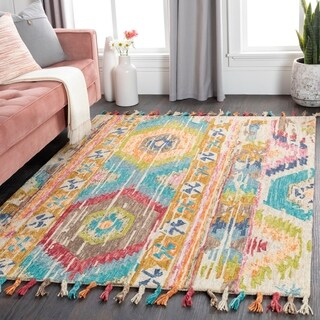 Amerigo Bohemian Wool Area Rug