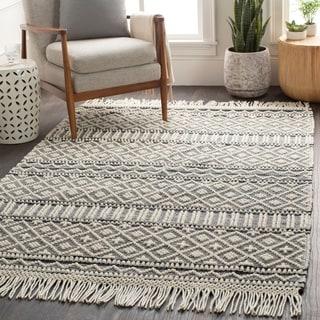 Adamsen Handmade Modern Rustic Wool Area Rug