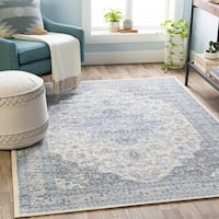 Monarch Traditional Medallion Area Rug