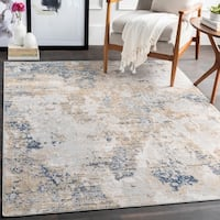 The Gray Barn Singing Prairie Tan Modern Area Rug
