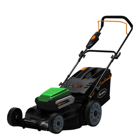 Scotts 21- Inch Cordless 62 Volt Lithium Lawn Mower