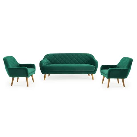 Isobel 3pc Seating Set in Emerald Green by RST Brands